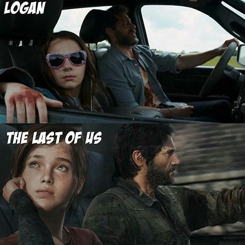 Logan the last of us avitique avec du recul