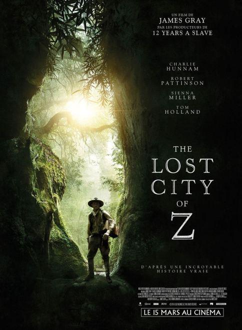 The lost city of Z critique avec du recul avitique