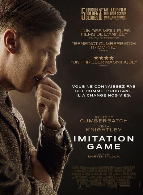 Imitation Game affiche critique avec du recul blog avitique