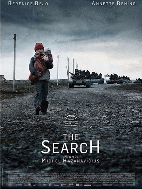 Affiche The search critique avec du recul Hazanavicius avitique