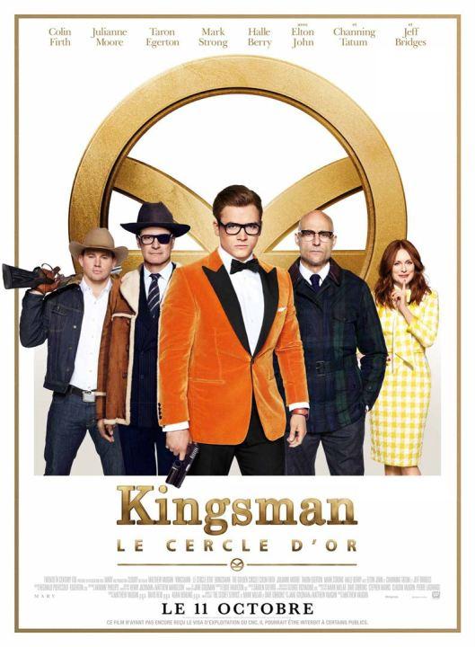 affiche kingsman le cercle d'or critique avec du recul avitique blog