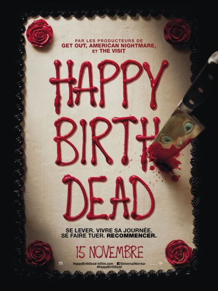 Affiche Happy birthdead critique avec du recul blog avitique