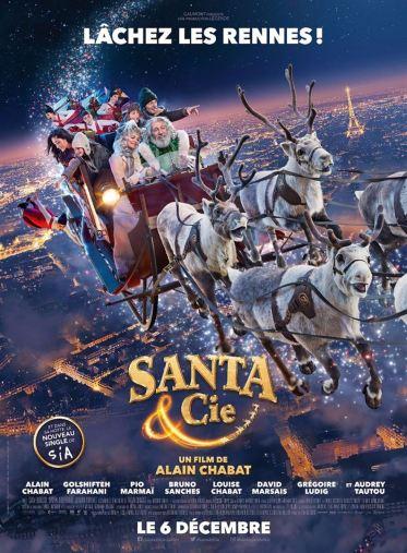 Santa & Cie affiche critique avec du recul blog avitique
