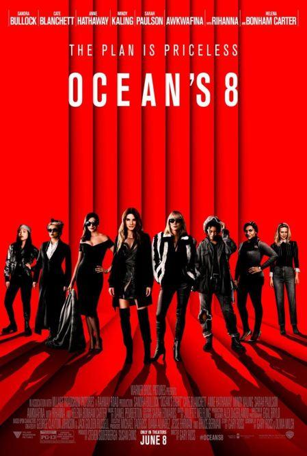 affiche Ocean's 8 critique avitique avec du recul blog