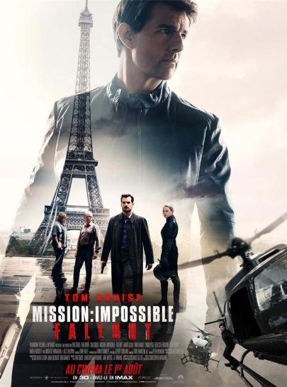 affiche mission impossible fallout critique mission impossible 6 avec du recul blog
