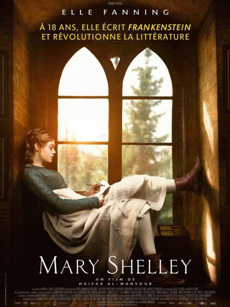 affiche Mary Shelley critique avitique blog avec du recul