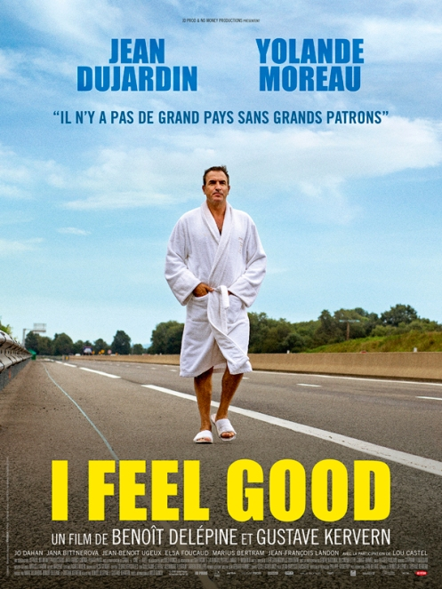 affiche I feel good critique film avitique avec du recul blog jean dujardin