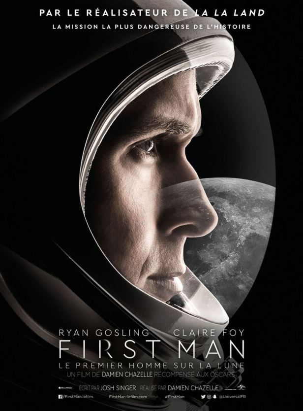 affiche First Man critique avec du recul blog avitique