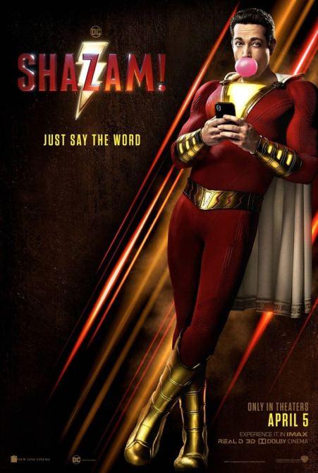 Shazam! 2019 attentes 2019 sortie films 2019