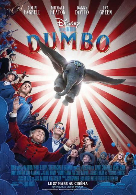 dumbo attentes 2019 Tim burton film 2019 cinéma